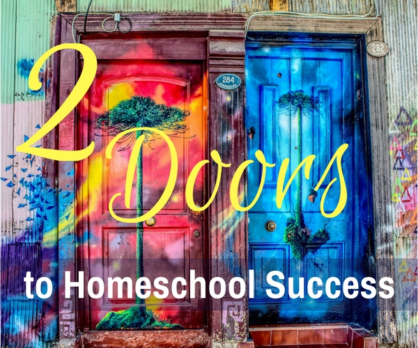 2 Doors to Homeschool Success