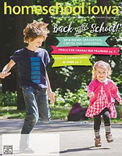 Homeschool Iowa Magazine Summer 2016 Issue