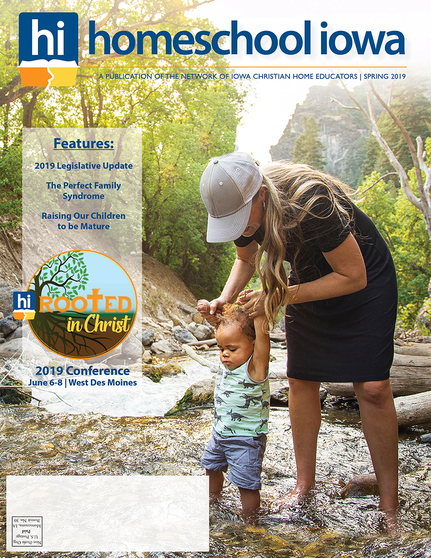 Homeschool Iowa Magazine Spring 2019 Issue