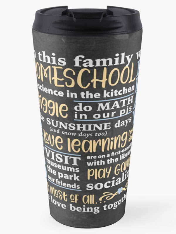 In This Family Coffee Mug - Homeschool Iowa Store