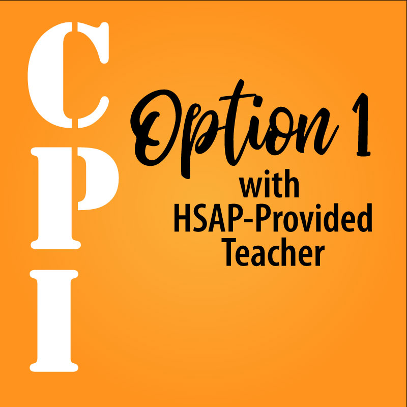 Competent Private Instruction Option 1 with HSAP Teacher