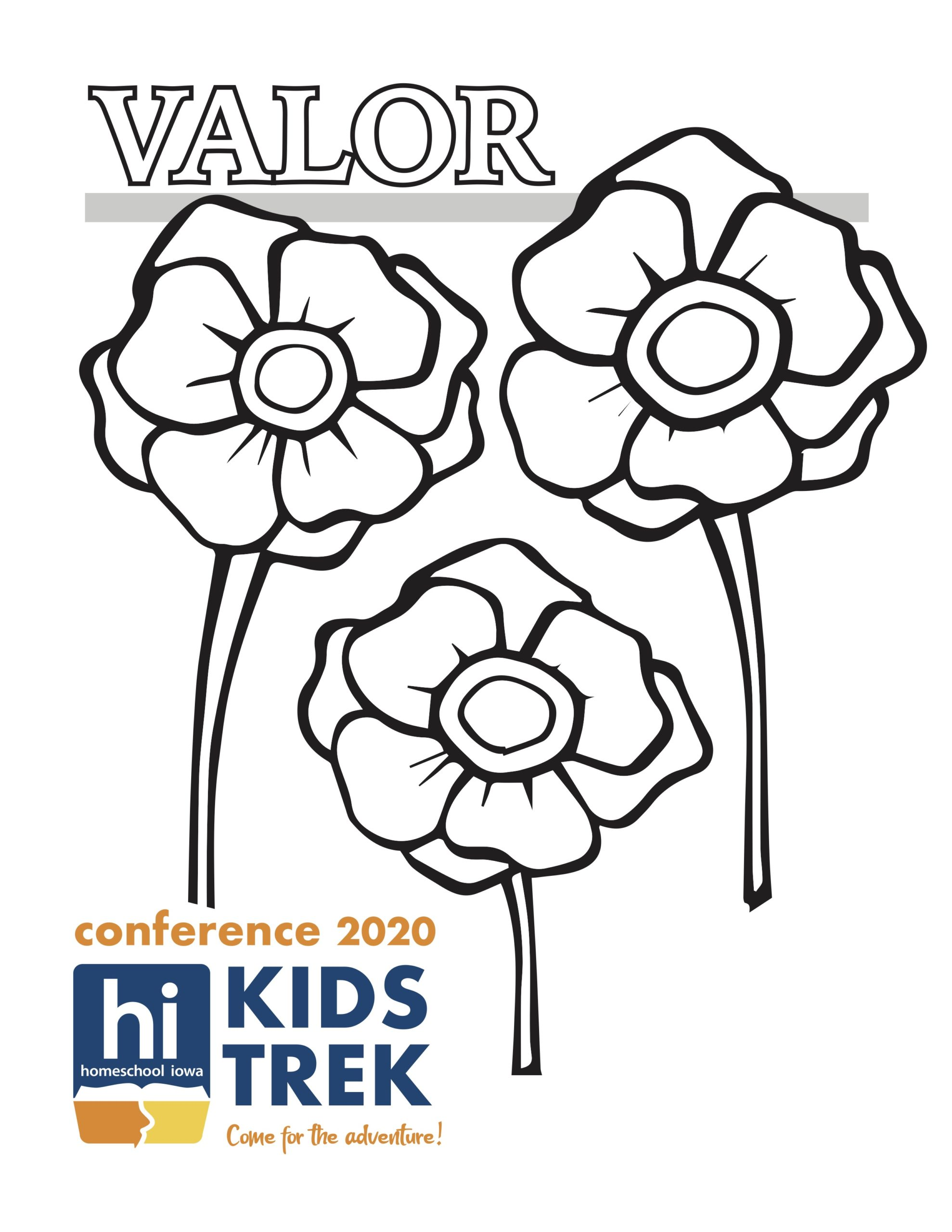 Valor! Coloring Page 1