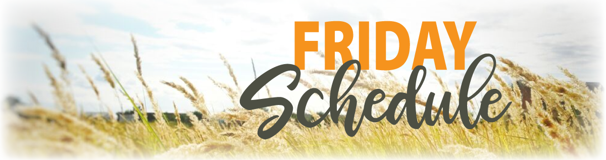Homeschool Iowa Conference Friday Schedule