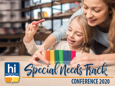 2020 Homeschool Iowa Conference Special Needs Special Track