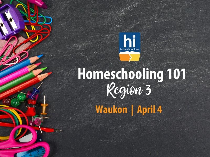 Homeschooling 101 - 4-4-20 - Waukon, Iowa