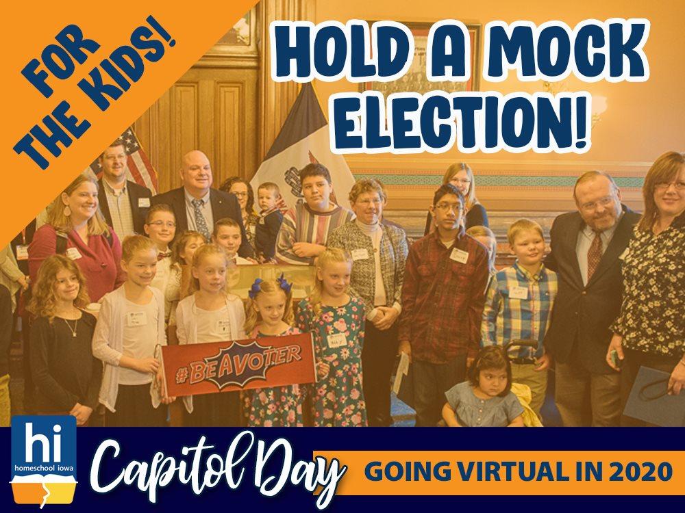 Homeschool Iowa Virtual Capitol Day: Get Writing