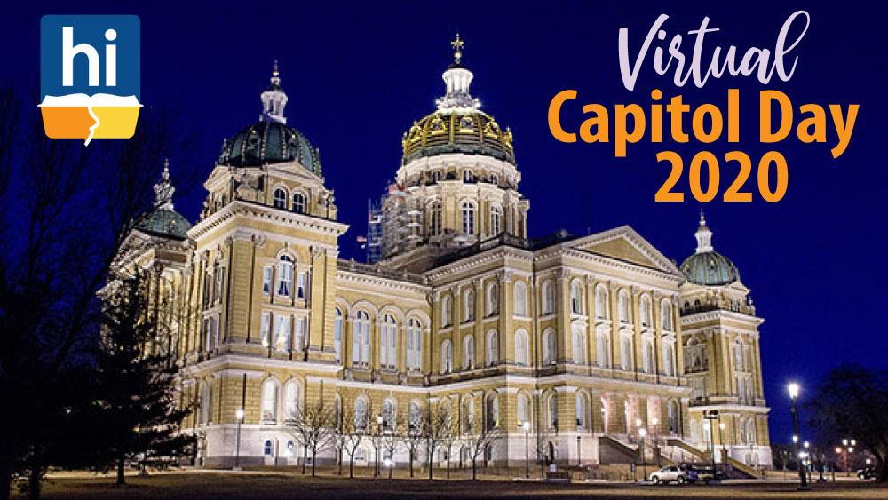2020 Homeschool Iowa Virtual Capitol Day