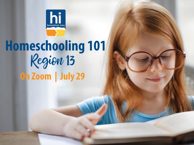 Homeschooling 101 - 7-29-20 - Zoom (Region 13)