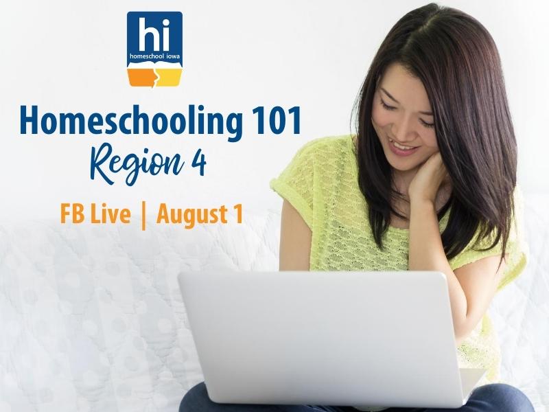 Homeschooling 101 - 8-1-20 - Region 4