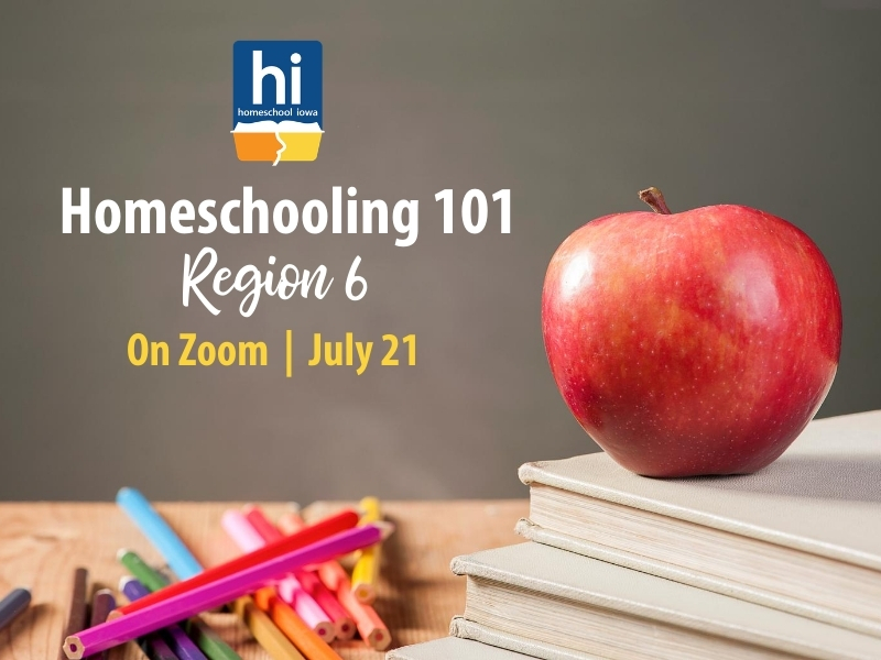 Homeschooling 101 - 7-20-20 - Zoom (Region 2