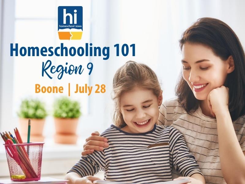 Homeschooling 101 - 7-28-20 - Region 9