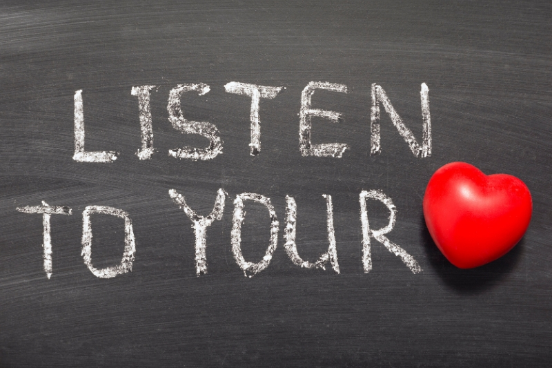 Listen to Your Heart by Todd Wilson