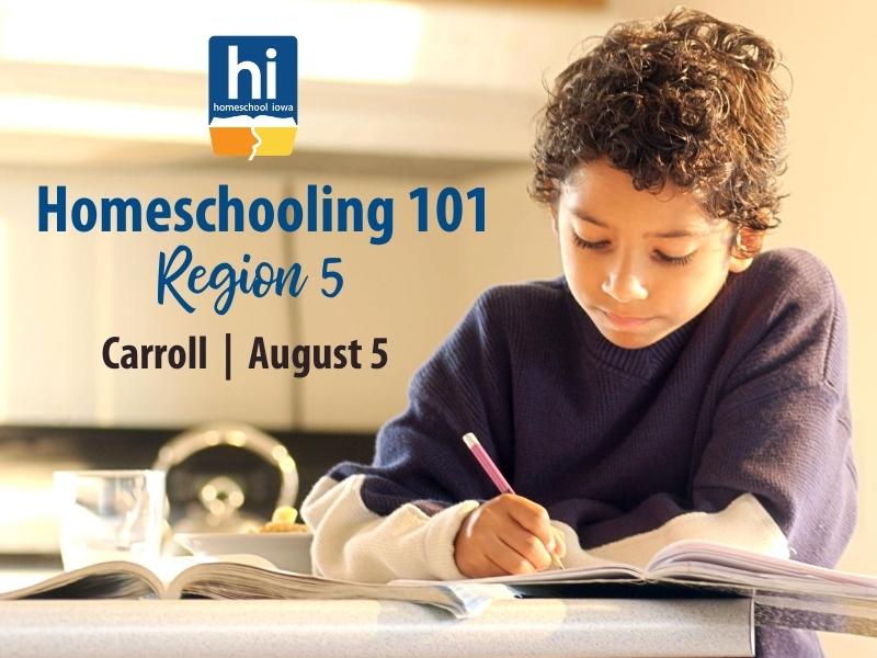 Homeschooling 101 - 8-6-20 - Region 15