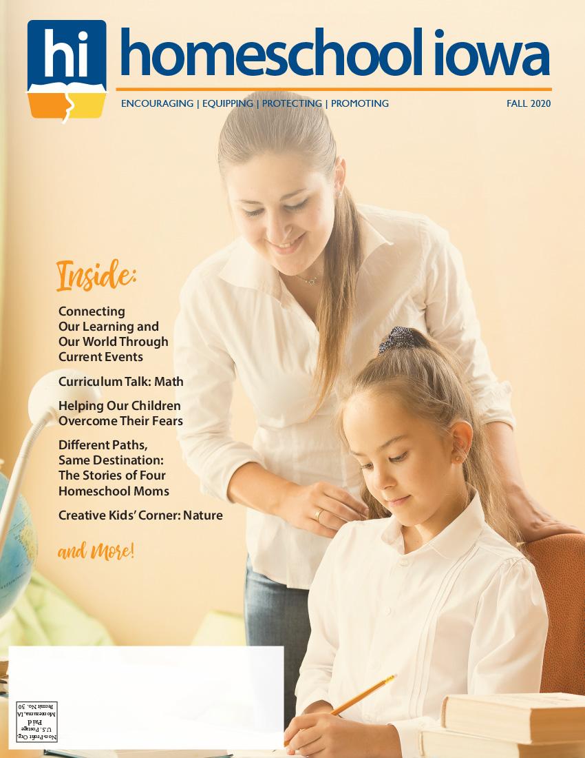 Homeschool Iowa Magazine Winter 2018 Issue
