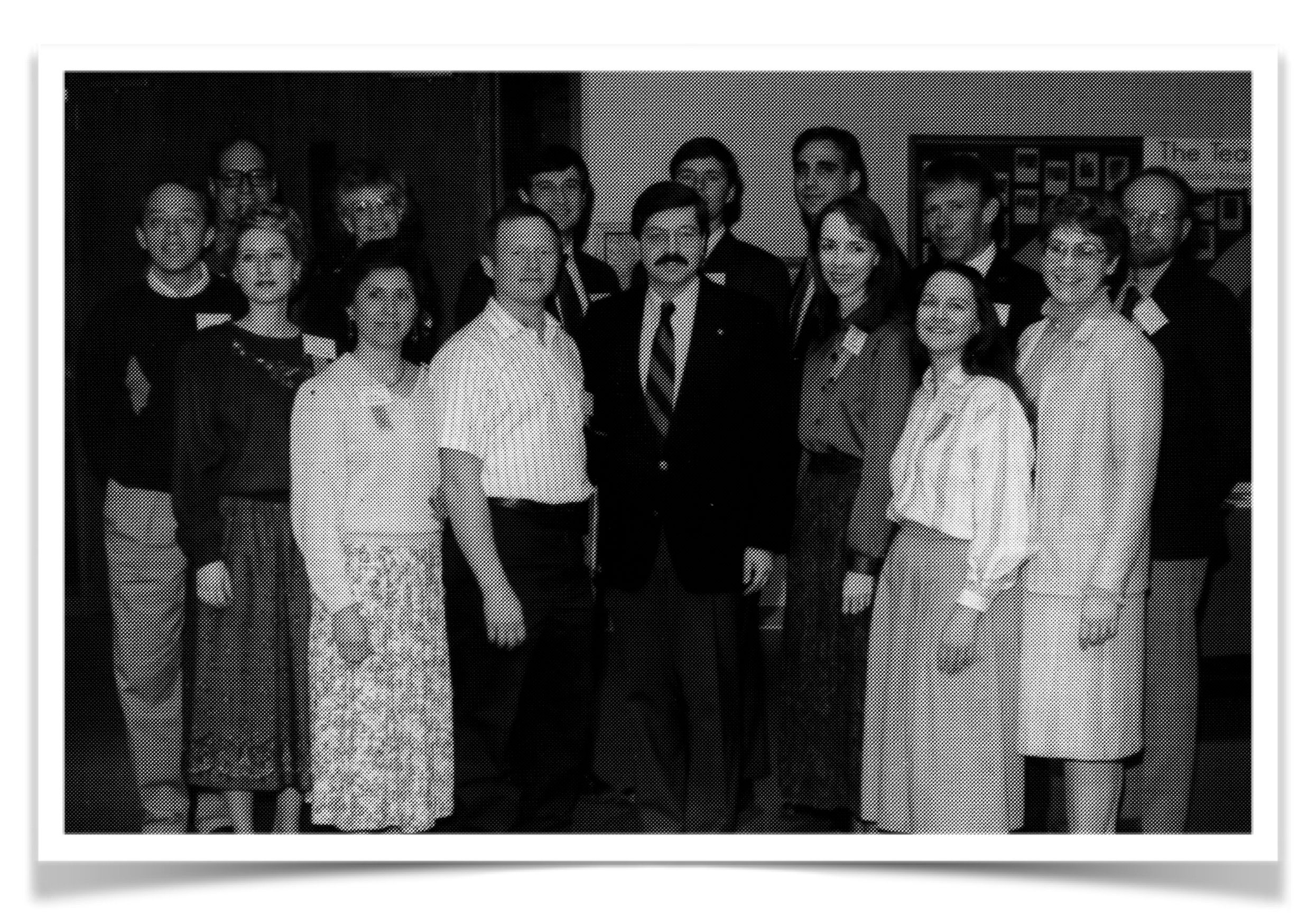 History of Homeschooling in Iowa 1990: The 1993 NICHE Board with Governor Branstad