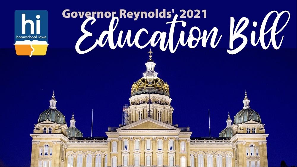 Governor Reynolds 2021 Education Bill