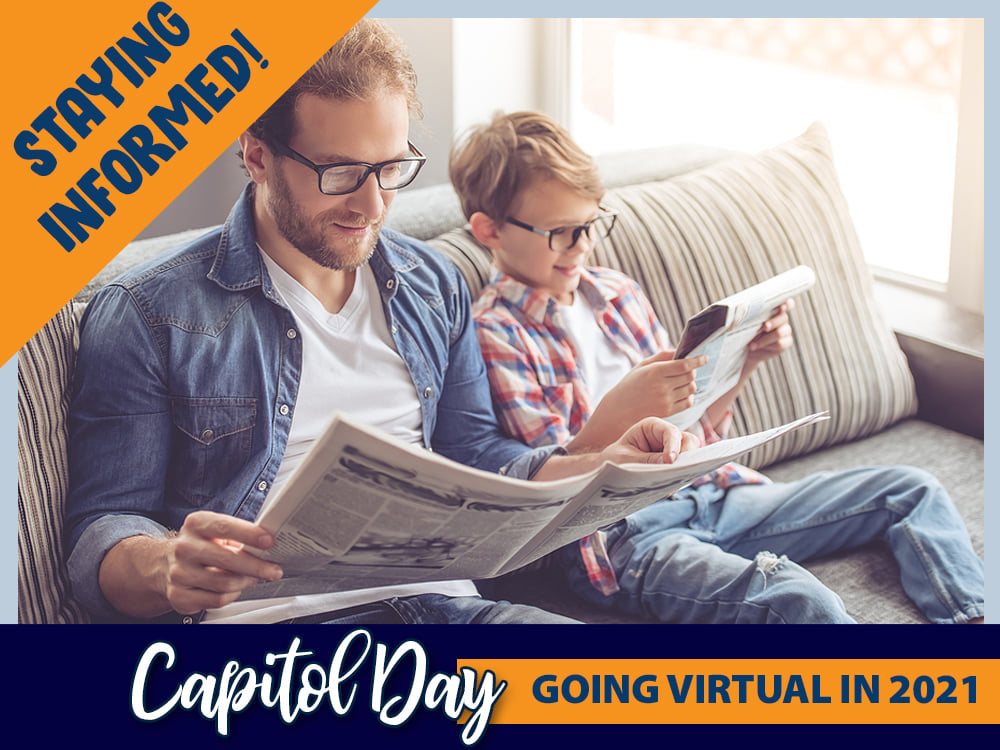 2021 Homeschool Iowa Virtual Capitol Day Stay Informed