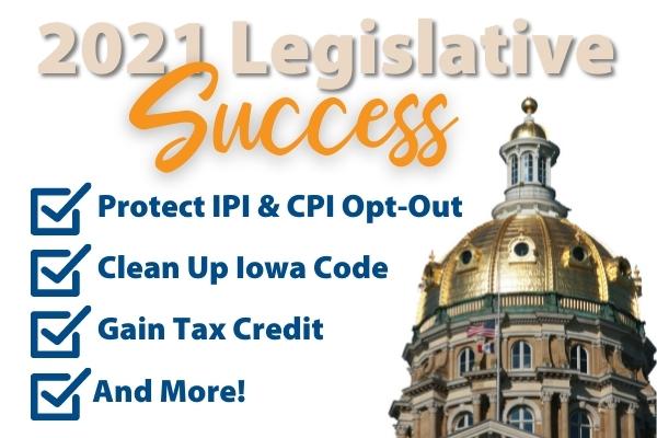 Homeschool Iowa Legislative Success in 2021