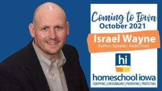 Israel Wayne October 2021 Speaking Events in Iowa