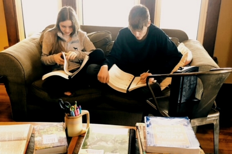 Homeschooling in Action at Our House: Supporting Your Homeschool Journey